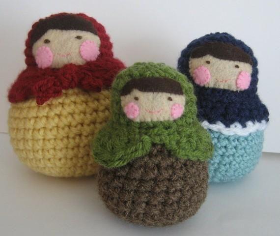 Crochet Matryoshka Doll Pattern Crocheting Patterns And Doll Patterns