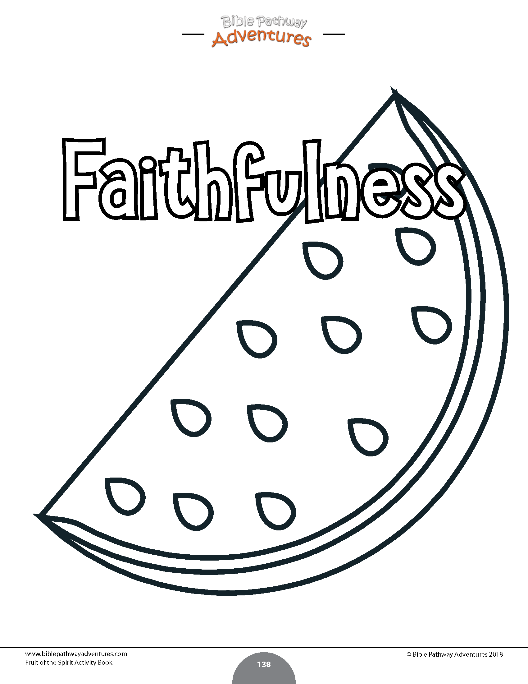 Fruit Of The Spirit Coloring Activity Book Bible Activities For Kids Bible Study For Kids Book Activities