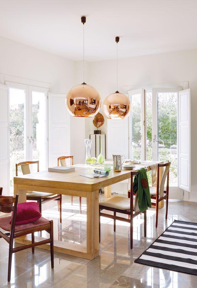 El retorno de la edad del cobre muebles dining decor for Proposito del comedor buffet