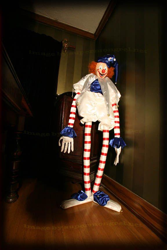 Lifesize Poltergeist Clown Replica Poltergeist Evil Clowns