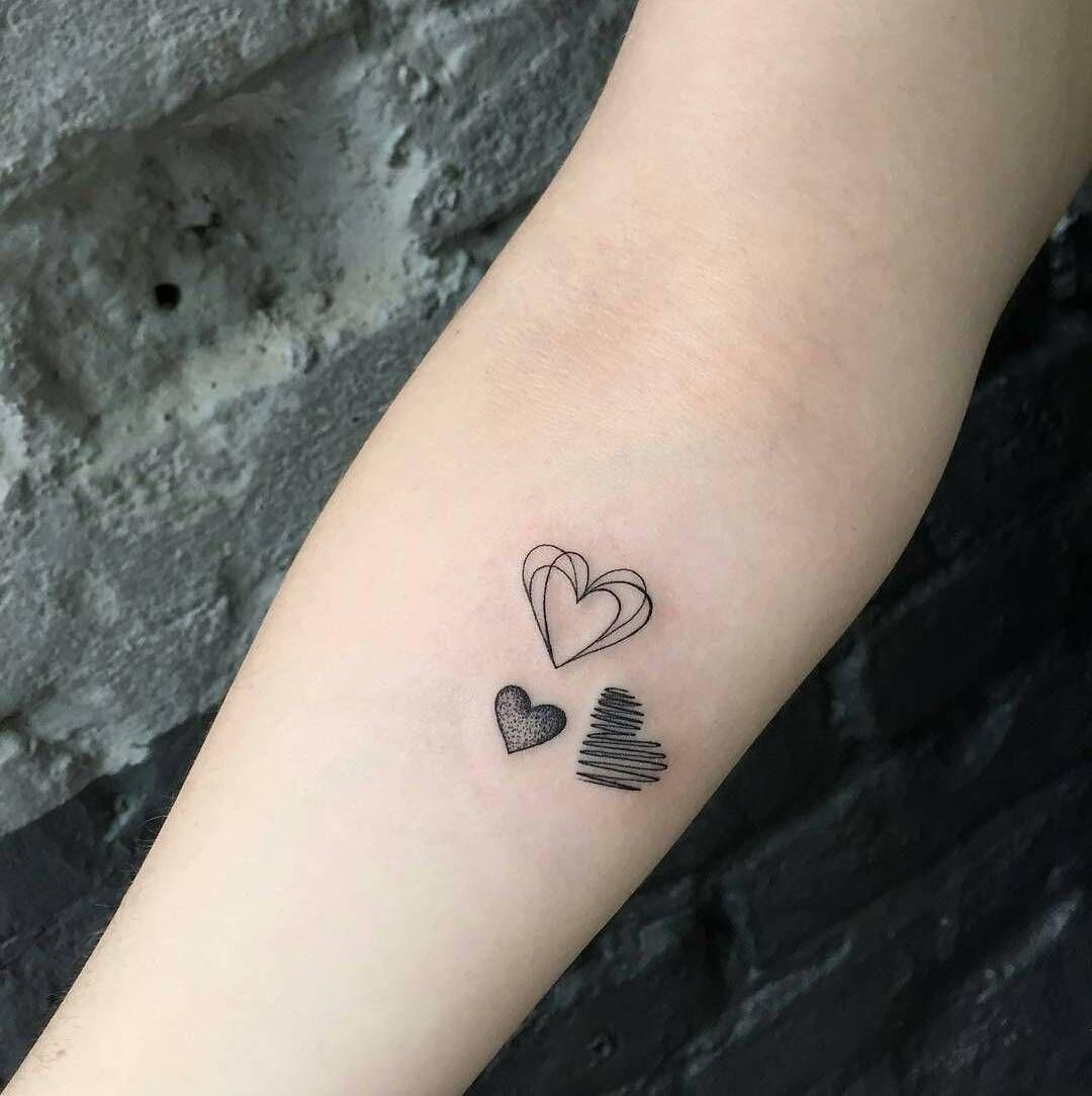 """Photo of Tattoo_always on Instagram: """"Tattoo done by @jesspaixaotattoo ——- ——- —— ——- —— ——- ——- ——-#mini #minitattoo #hearttattoo #heart…"""""""