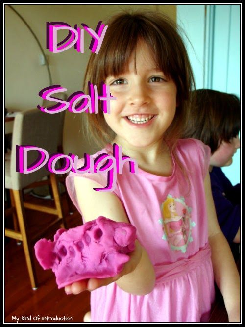 #DIY Salt Dough for #Kids