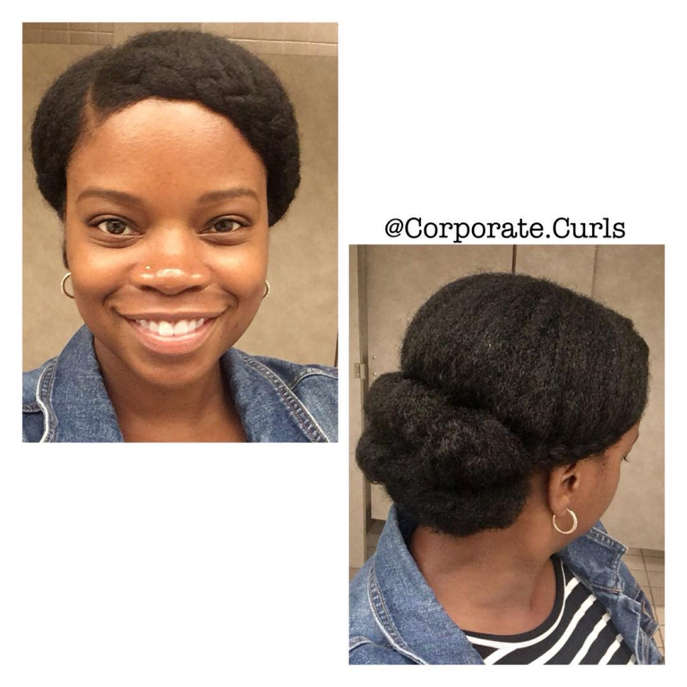8 Natural Hairstyles For Work To Try This Week Naturally You Magazine In 2020 Professional Natural Hairstyles Natural Hair Styles Natural Hair Styles Easy