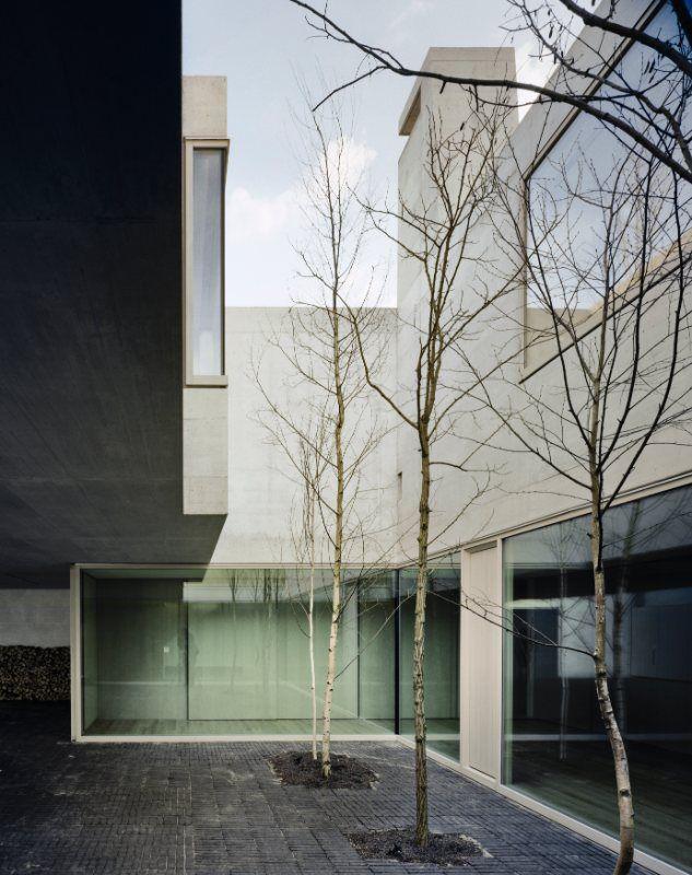 House in Binningen by Buchner Bründler Architekten, Switzerland.