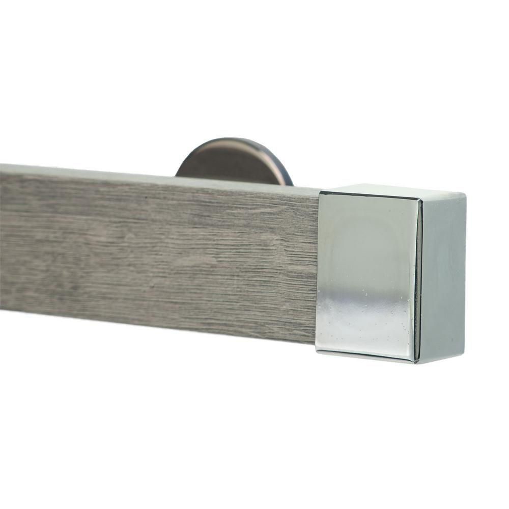Art Decor Kontur Wood 60 In Non Adjustable Single Traverse Window