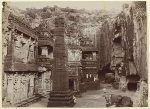 Image result for [1] NAUTCH GIRLS OF BOMBAY 1875[2] ELLORA CAVES