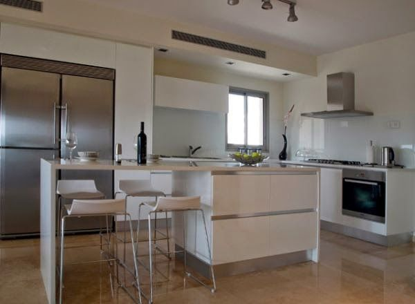 35 desain dapur dan ruang makan minimalis sederhana yang for Desain kitchen set minimalis modern