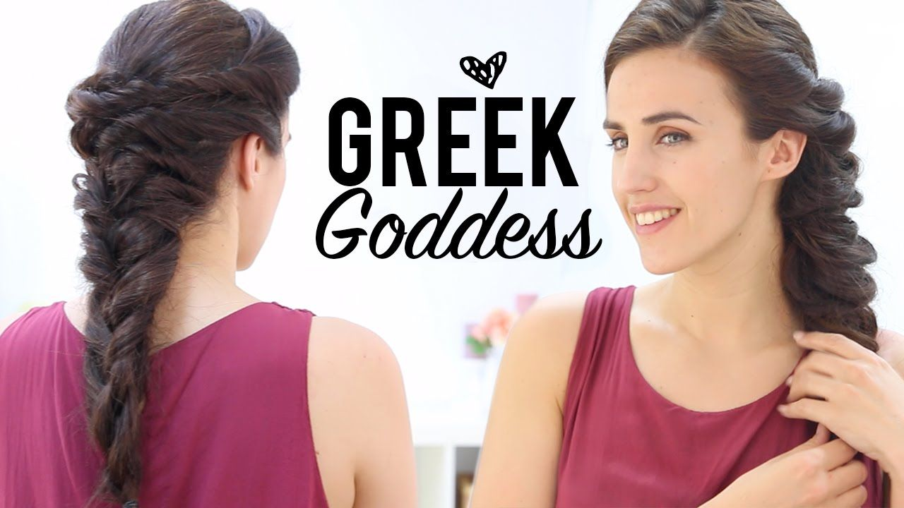 Goddess Hairstyles Unique ♥ ♥ Read Meexplanations ♥ ♥ Greek Goddess Hairstyles Tutorial