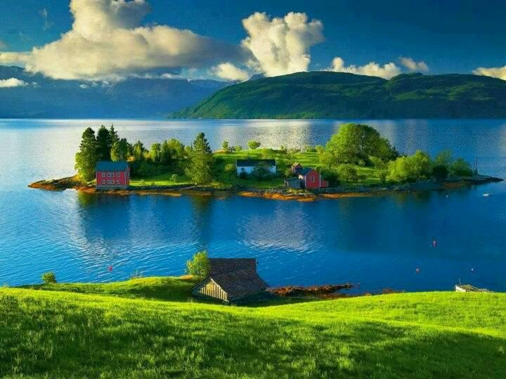 Lovely small island off of Norway