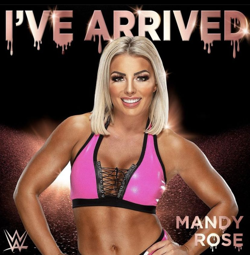Pin by WWE /MISC on Mandy Rose in 2020 | Butterscotch hair