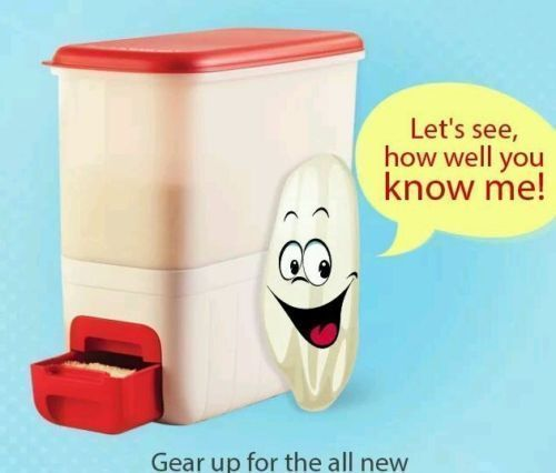 Tupperware 10 Kg Rice Keeper Smart Keeper Tupperware Tupperware Rice Keepers Rice Box