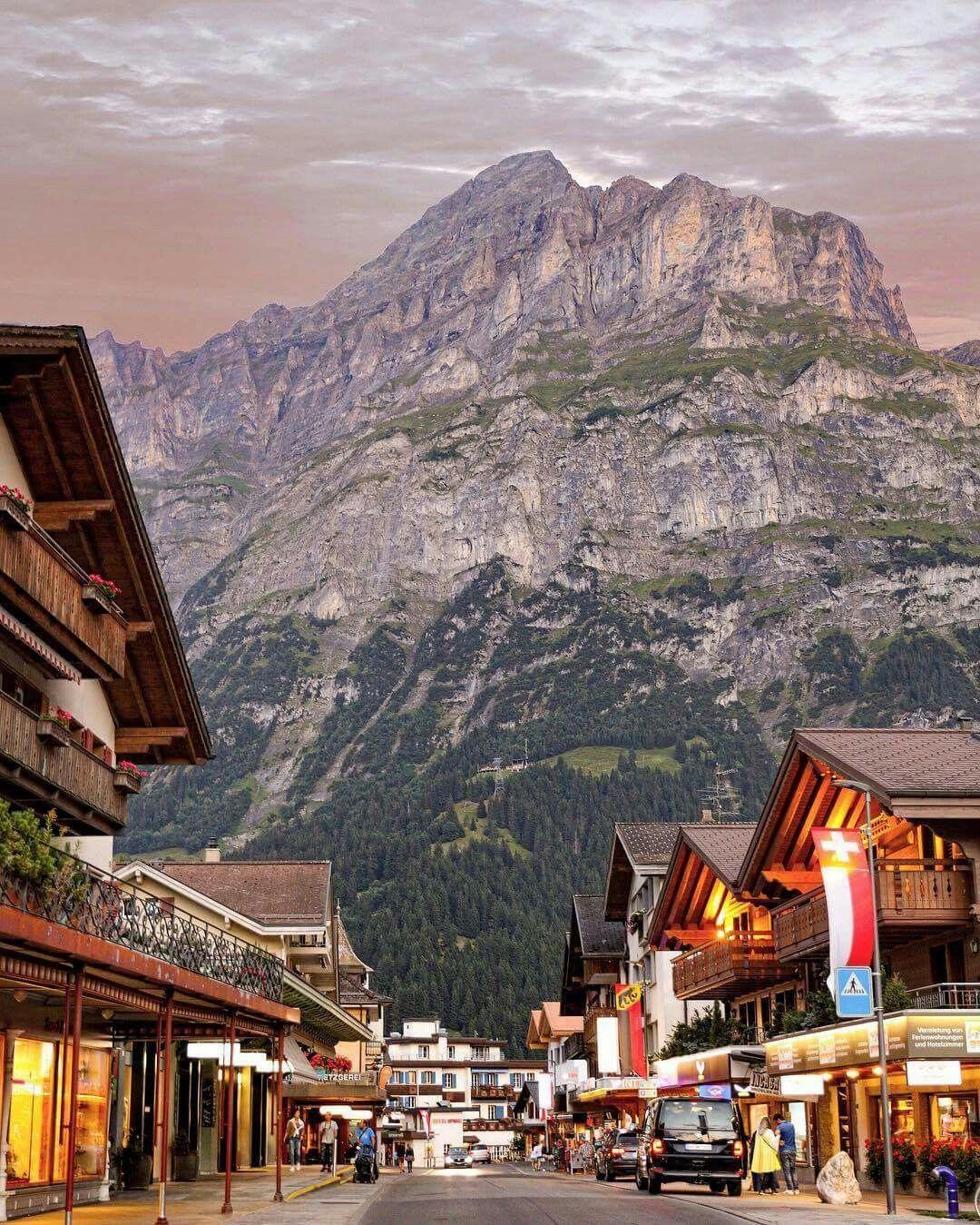 Places To Visit In Switzerland Blog: Grindelwald - Switzerland. ��: Senna Relax