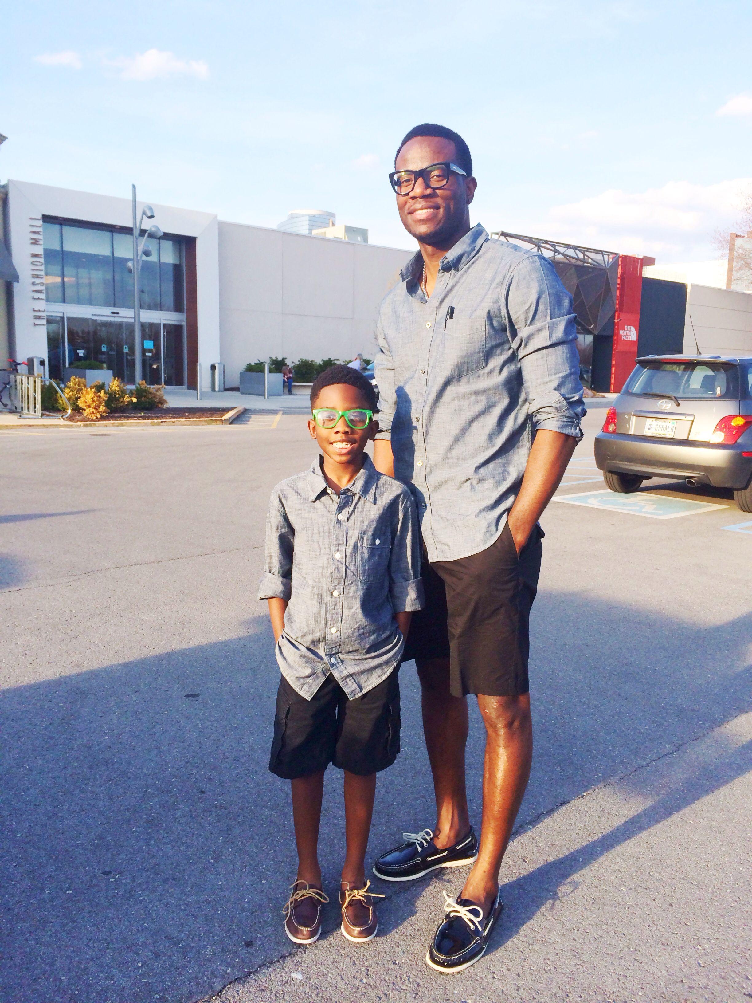 76510da9 Gap men's chambray shirt. Like father like son @Gap | Men's Fashion ...