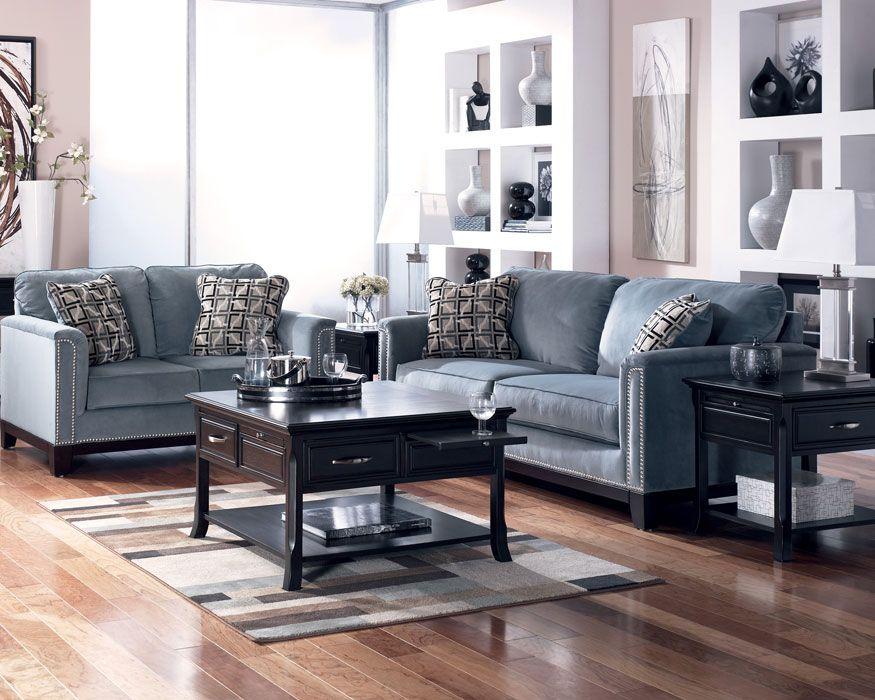 Sofa Loveseat Set 54302 Sl Entice