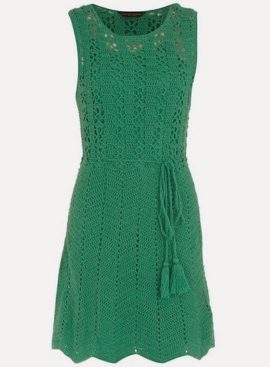 Crochet Maravillas: Puntos y prendas de vestir con punto zigzag