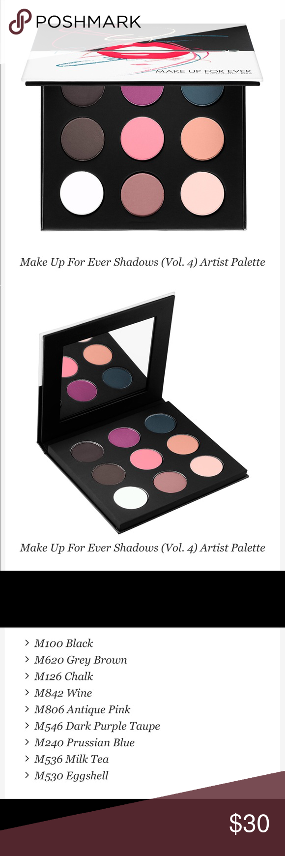 Make Up For Ever 9 Artist Shadow Palette 4 Make up