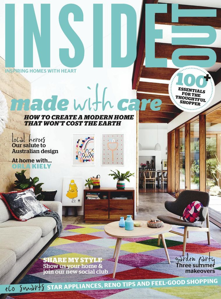 Inside Out Back Issue Jan 14 Feb 14 Digital In 2021 Decor Magazine Gallery Wall Decor Home Design Magazines