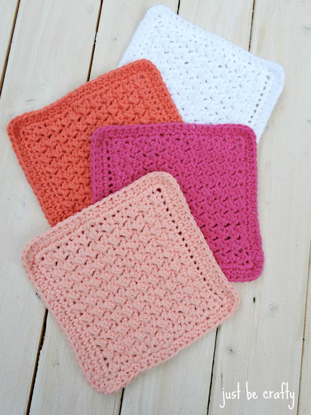 Crochet Cabin Dishcloth Pattern - Free Pattern by   Color