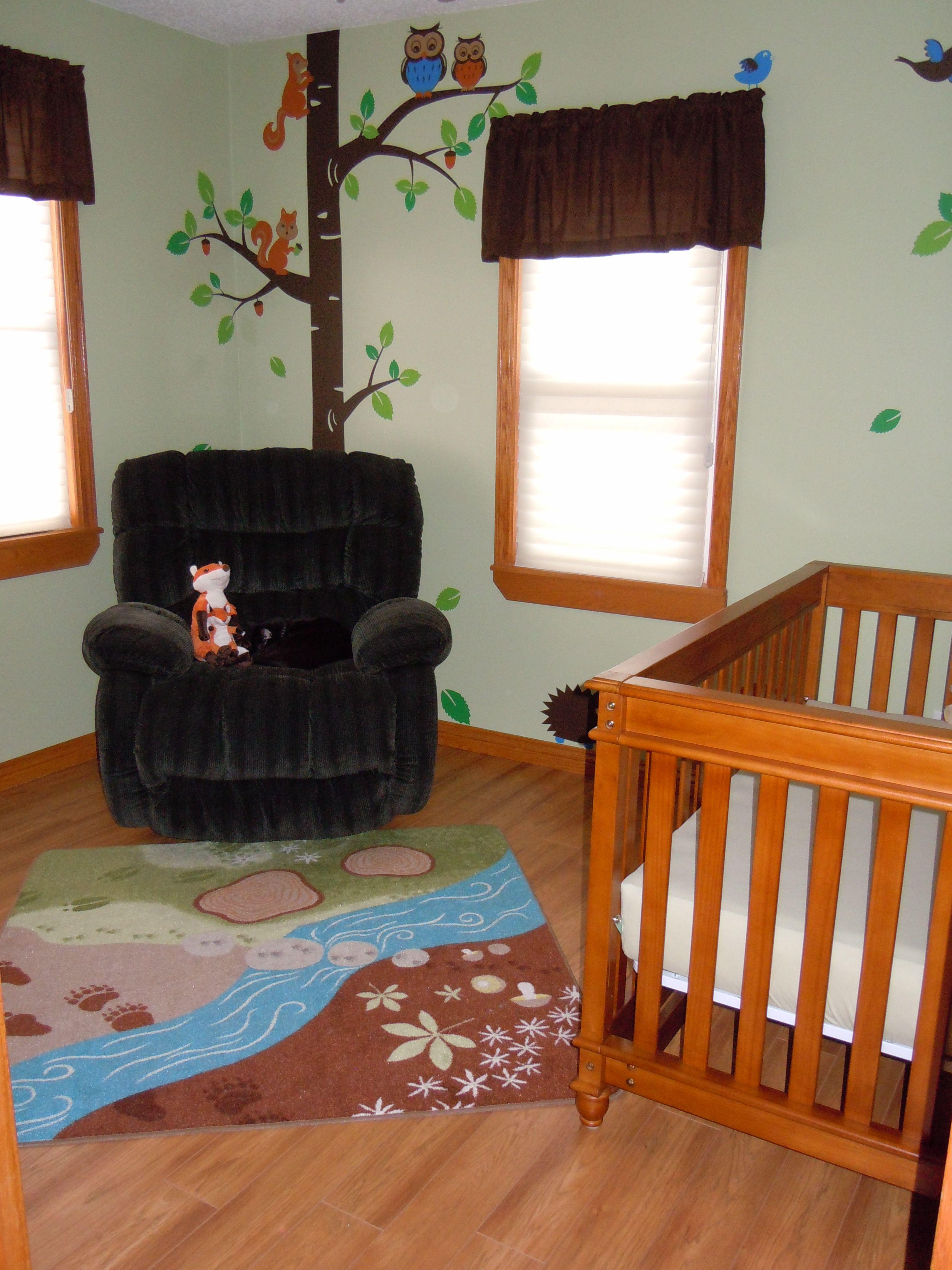 Europa Crib : europa, Woodland/forest, Animals, Nursery, Rug-IKEA, Decals-, Artfire.com-Smileywalls, Crib-, Europa, Palisad…, Animal, Rugs,, Theme,, Bedroom