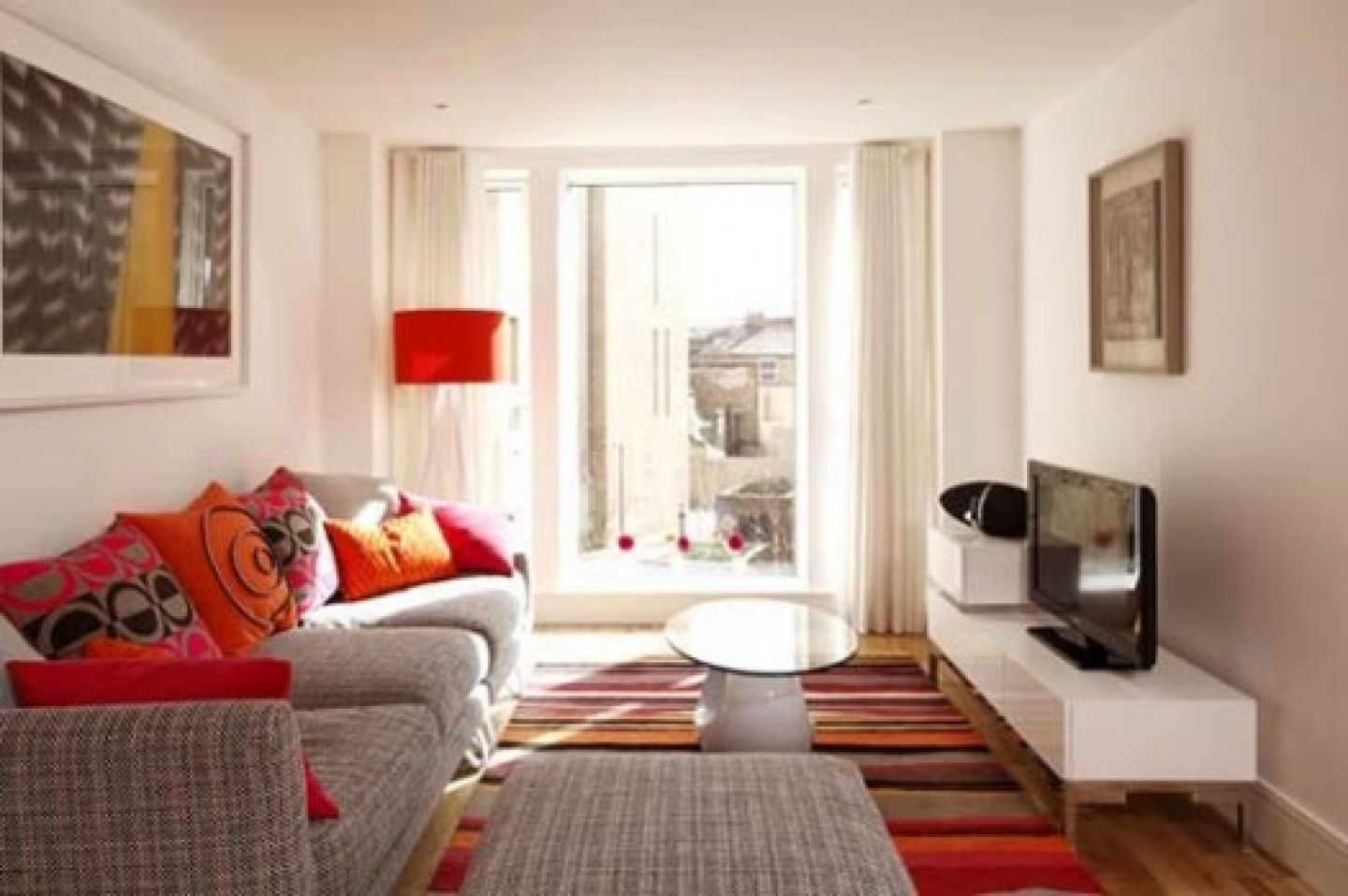 Living Room Small small apartments living room design with colourful funky classic