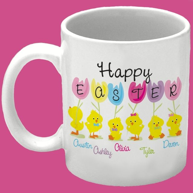 Easter mugs google search pictures pinterest easter easter personalized easter spring coffee mugs easter gifts gifts for him gifts for her gifts for kids negle Gallery