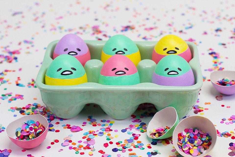 Gudetama Easter Eggs Sweet Happy News Easter Crafts Easter Crafts Diy Crafts