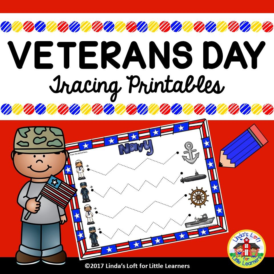 Veterans Day Pre Writing Printables Veterans Day Early Childhood Education Activities Quiet Time Activities [ 960 x 960 Pixel ]
