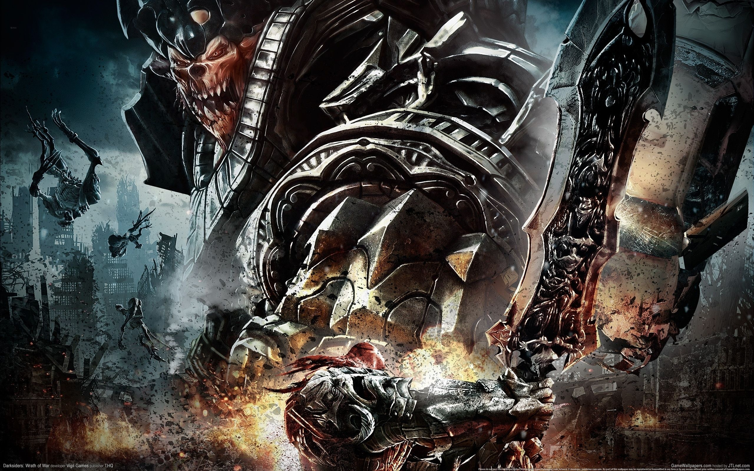 darksiders images darksiders death wallpaper hd wallpaper and | hd