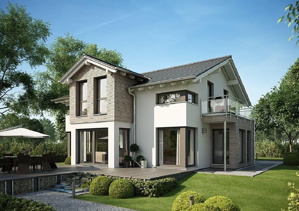 pin von hausbaudirekt auf hausbaudirekt pinterest haus einfamilienhaus und haus ideen. Black Bedroom Furniture Sets. Home Design Ideas