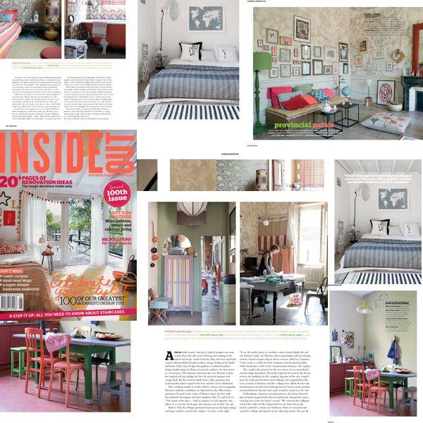 l'atelier copirates dans le magazine australien INSIDE OUT