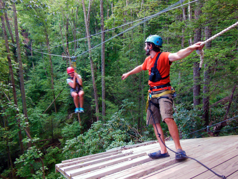 Ace Adventures Zip Line Ohioactive West Virginia Adventure