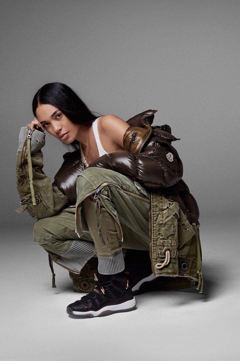 buy online 26c5d 9bfae Jordan Taps Aleali May And Jasmine Jordan For Retro 11 ...