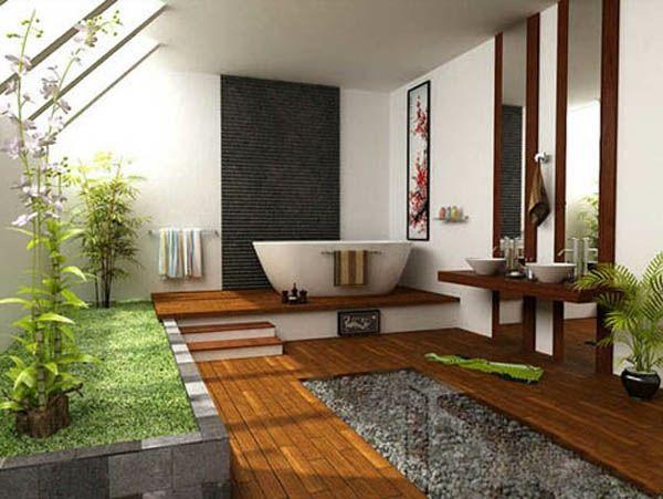 Kreativ Ideen Badezimmer ~ Großes feng shui badezimmer die wohnung nach feng shui