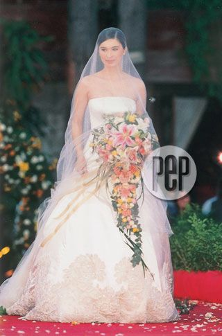 Sunshine Cruz Wedding Gown By Eric Pineda Pinay Brides Bride