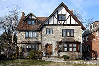 Tudor Style House That Faithfully Reproduces Many Of The