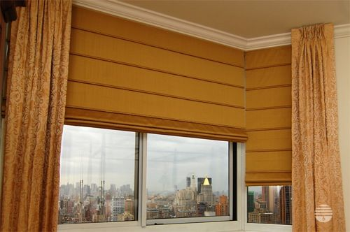 horizon window treatments roman shade here is creation featuring horizons ribbed pleat shades from fashion furniture flat gold roman horizon window treatments