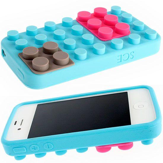 iPhone 4/4S Lego Brick Case | Cool iphone cases, Iphone 4s case ...