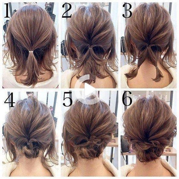 Más de 50 tutoriales rápidos y fáciles paso a paso para cabello largo, mediano y corto # fáci…