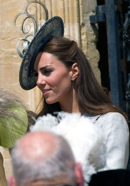 Kate Middleton - Royals Attend The Order Of The Garter Service
