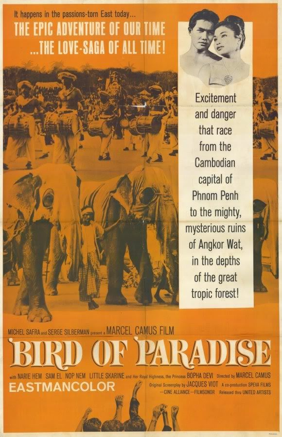 L'oiseau de paradis (Bird of Paradise) 1962