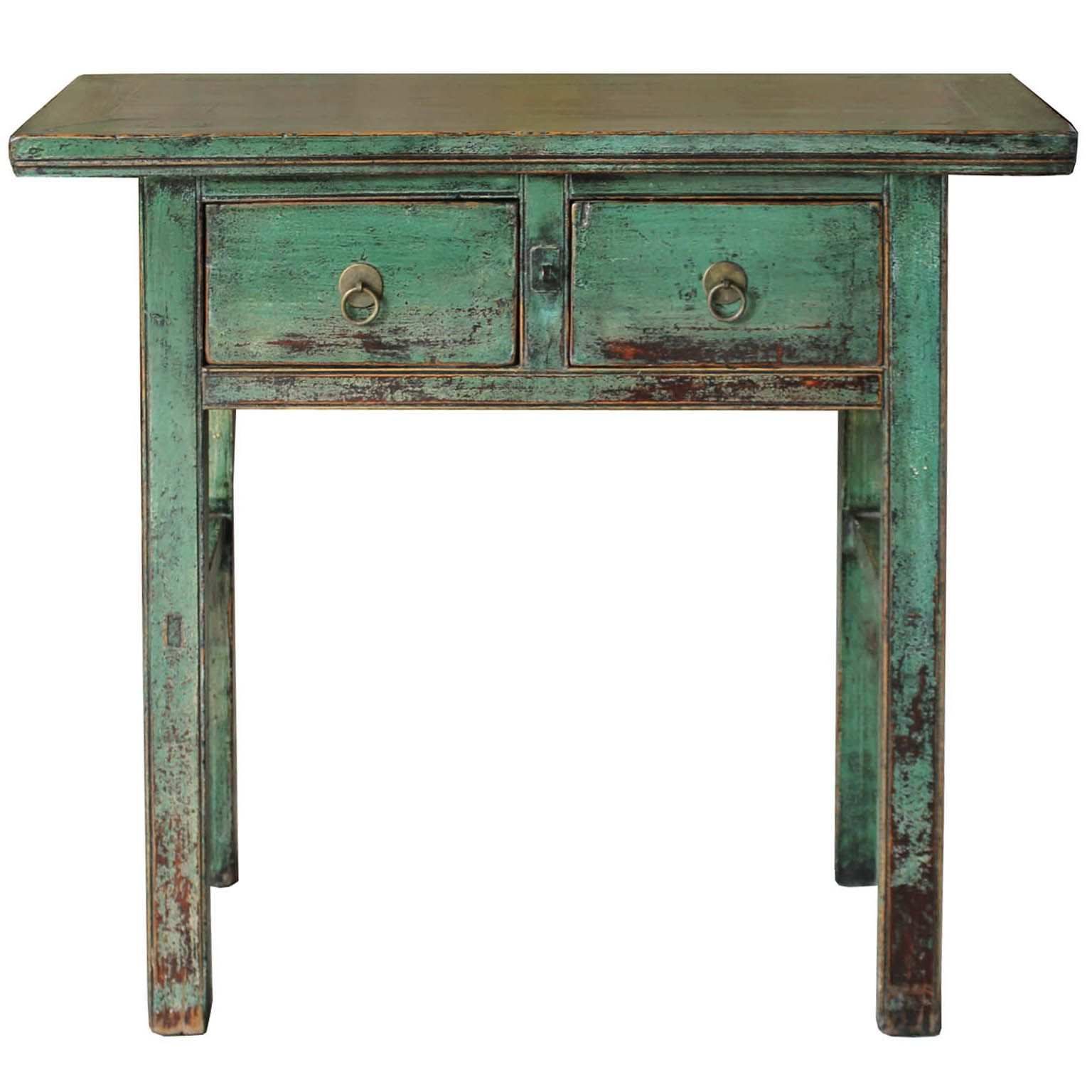 Green Console Table Console Table Bar Console Exposed Wood