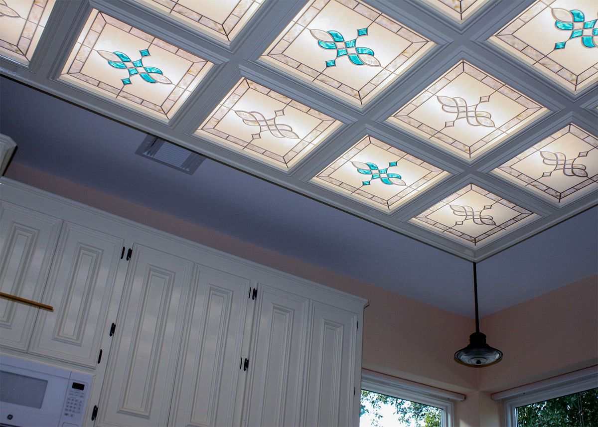 Stained Glass 11 Fluorescent Light Covers Fluorescent Gallery Fluorescent Light Covers Light Panels Light Covers