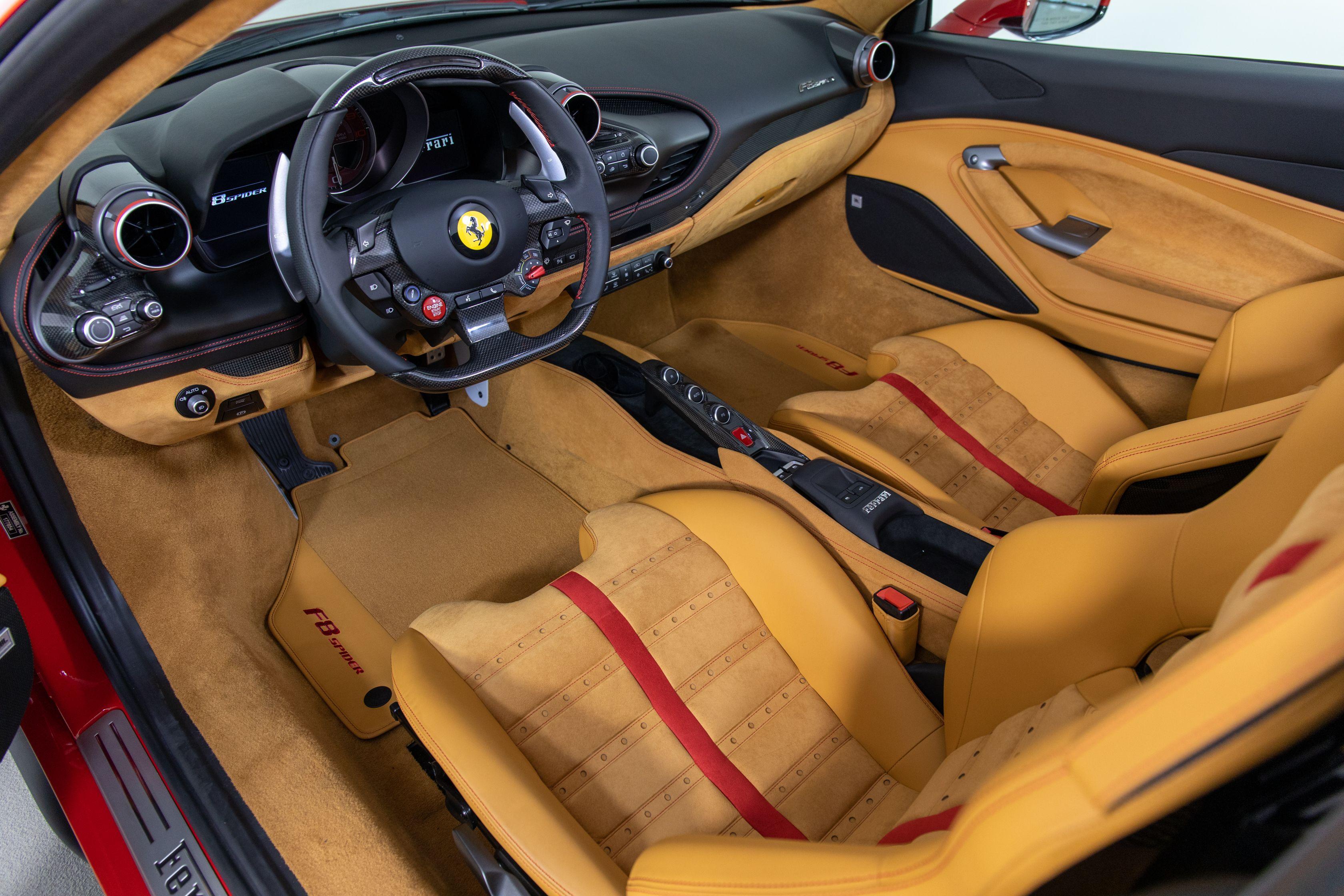 F8 Tributo Spider Interior Ferrari Of Houston And The Woodlands Ferrari Super Cars Italian Design