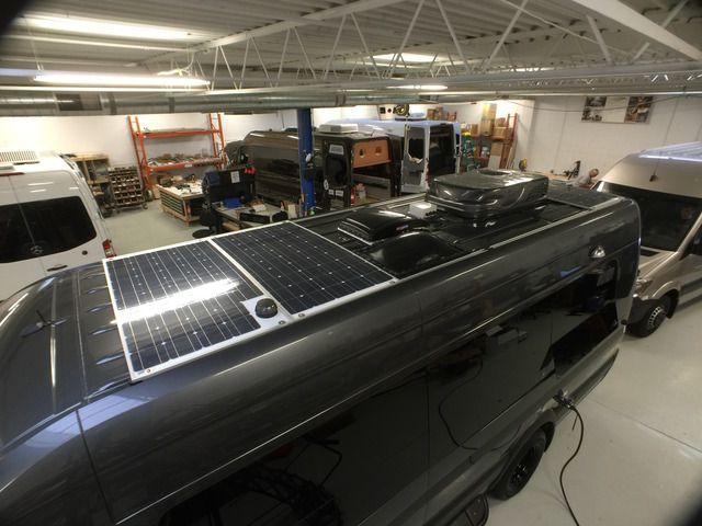Low Profile Solar Panels Page 2 Sprinter Forum Solar Panels Off Grid Living Solar