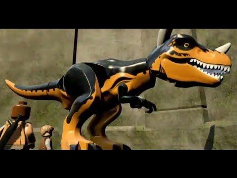 Lego Jurassic World: Custom Carnotaurus Dinosaur Gameplay and Code ...
