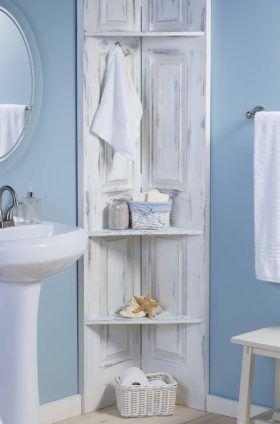 Bathroom Corner Shelf Shelves Small Storage Organization