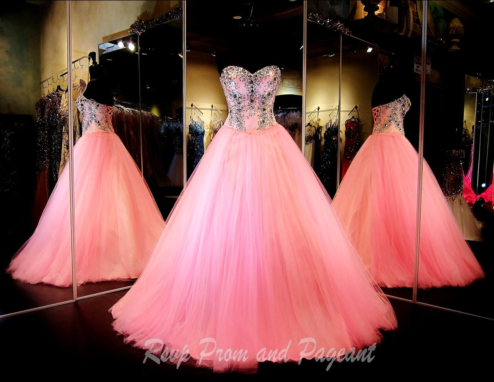 Pink sweetheart neckline ball gown prom dress pinterest rsvp