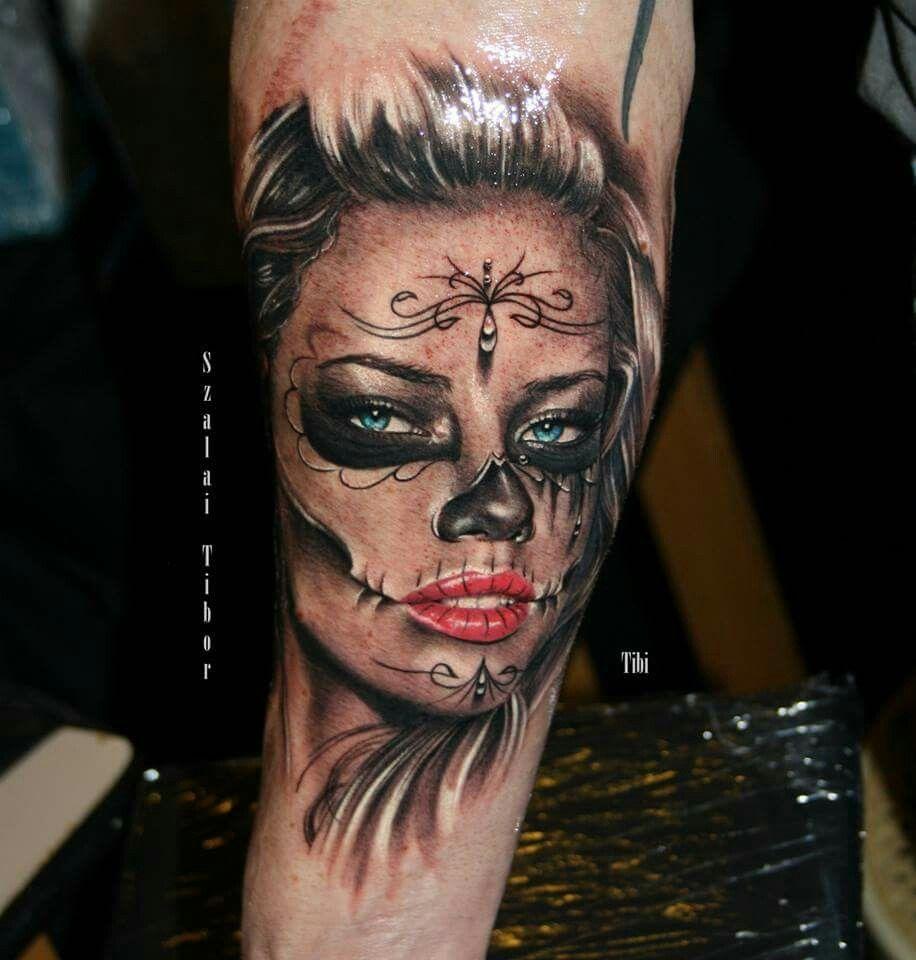 catrina luki tattoo november pinterest tattoo. Black Bedroom Furniture Sets. Home Design Ideas