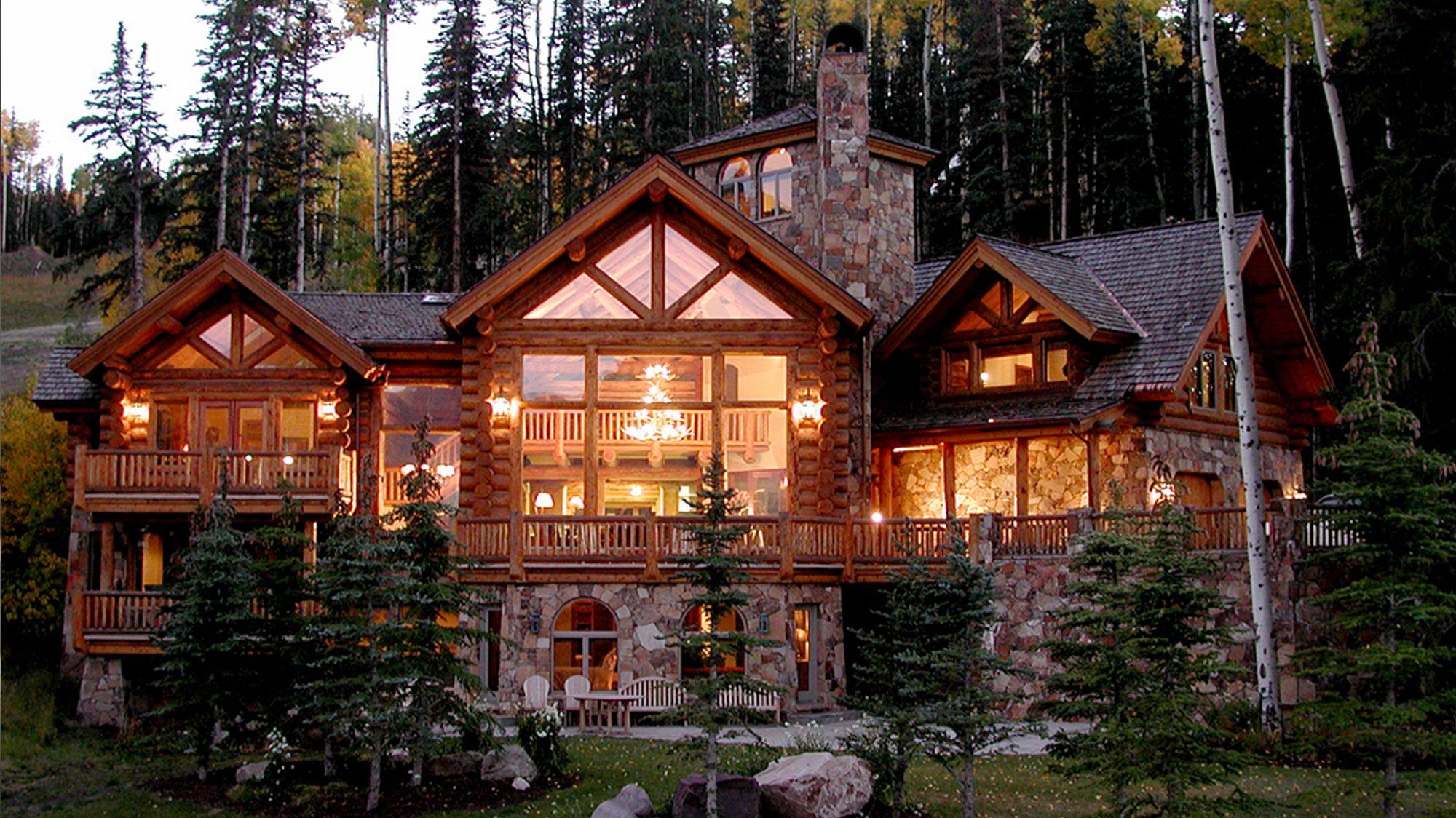 Colorado ski lodge