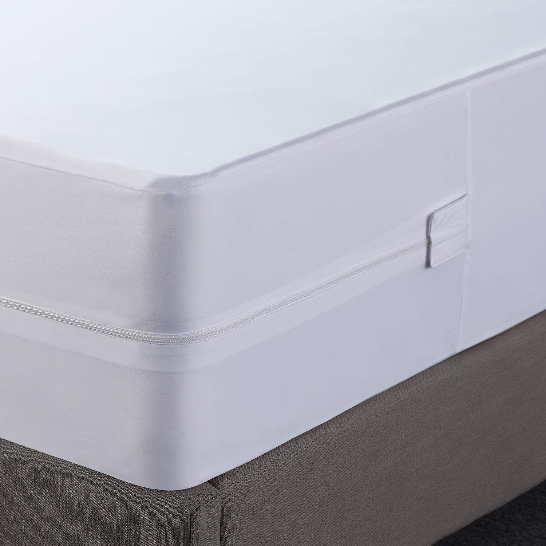 Utopia Bedding Zippered Mattress Encasement Waterproof Mattress Protector Queen Learn More By Visiting The In 2020 Mattress Encasement Mattress Protector Mattress
